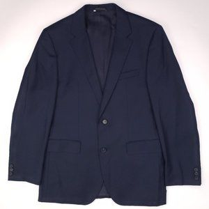 Current Hugo Boss Blue Blazer 40R Navy The James4